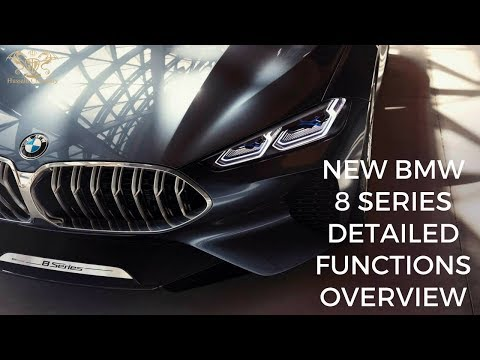 BMW 8 Series: 523bhp coupe tests on Welsh roads 2019 | Functions & OverView