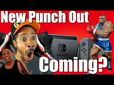 Carmen - Nintendo Re-Releasing Punch-Out Without Mike Tyson