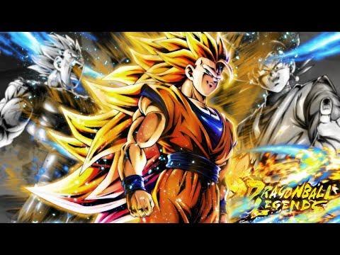 The ULTIMATE Showcase! SSJ3 Goku + Goku Black + Majin Vegeta | Dragon Ball Legends