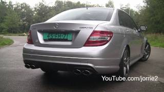 2008 Mercedes Benz AMG C63 Videos