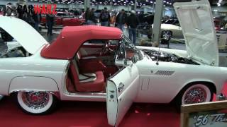 1956 Ford Thunderbird At The Speed And Custom Car Show London Ontario 2017
