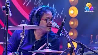 Drummer Jaffer Solo drums performance @ Comedy Utsavam