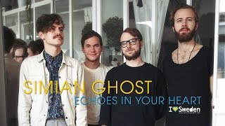 Simian Ghost -  Echoes In Your Heart (Acoustic session by ILOVESWEDEN.NET)