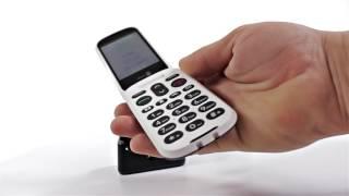 Produktvideo zu Seniorenhandy Doro 6050 Graphit-Weiß