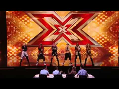 Alien Uncovered sings 'Pump it' by The Black Eyed Peas - Room Auditions - The X Factor UK 2015