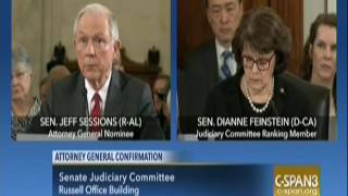 Jeff Sessions: Will Follow The Law On Same-Sex Marriage and Roe v. Wade Free HD Video