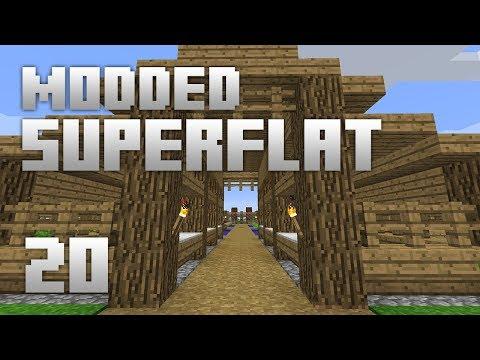 ►Modded Superflat  TOO GOOD?!  Ep 20  Modded Minecraft Survival◄