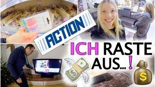 Das erste Mal im Action 🤑😲 | Deko & Möbel shoppen | Filme Abend | Isabeau