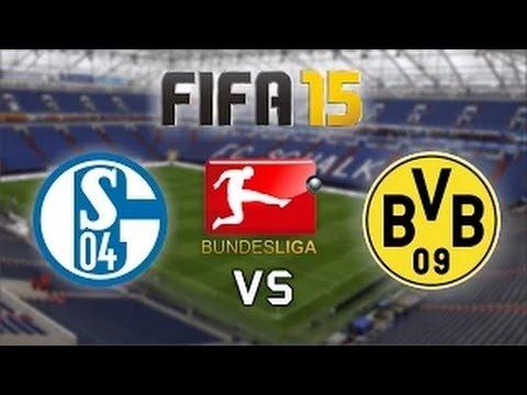 1.Bundesliga   Schalke 04 - Borusssia Dortmund (6.Spieltag) ~ FIFA 15 Prognose