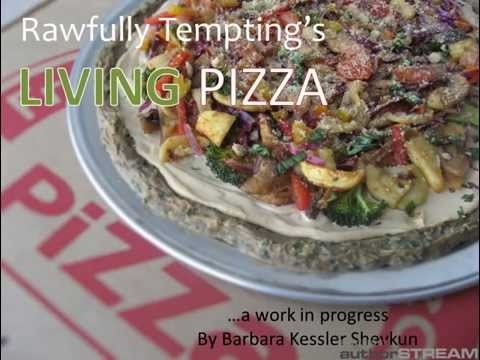 Raw Vegan Pizza Recipes