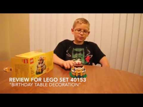 Review Of Lego Set 40153 Birthday Table Decoration