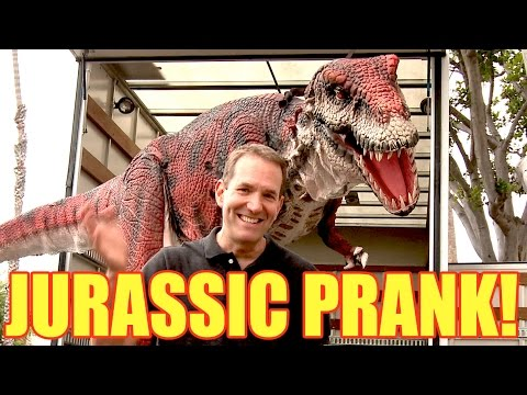 Can A Fake Dinosaur Prank People? You Bet Jurassican.
