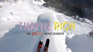 Zig Zag- Thayne Rich Segment