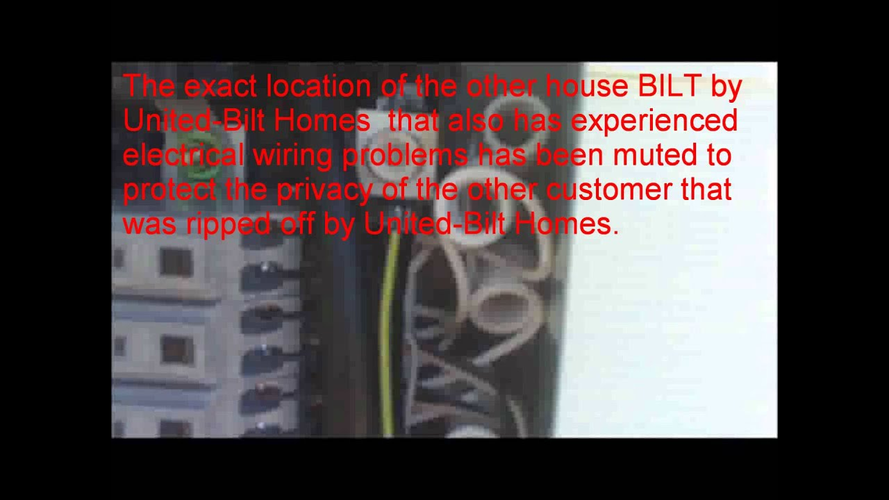 united bilt homes electric coop identifies multiple nec irc code violations with wiring  [ 1280 x 720 Pixel ]