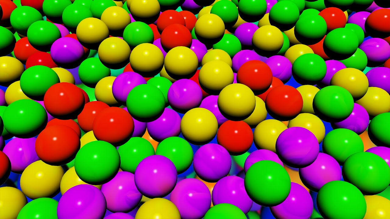 The Ball Pit Show for Learning Colors Childrens