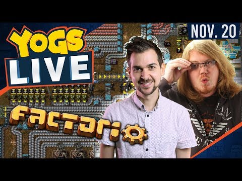 Strategy Monday - Factorio w/ Duncan & Lewis - 20th November 2017 [Part 1]