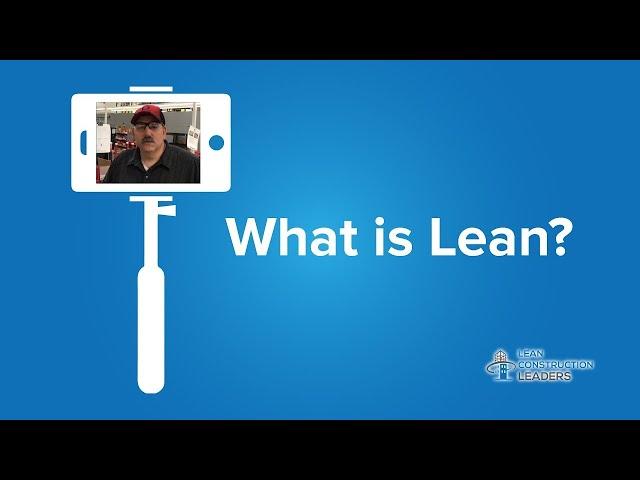 Tim Ostrander - What is Lean?