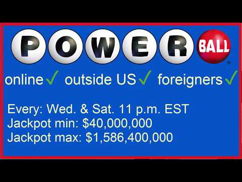 How Play The US American PowerBall Lottery Online, Outside US, From Overseas