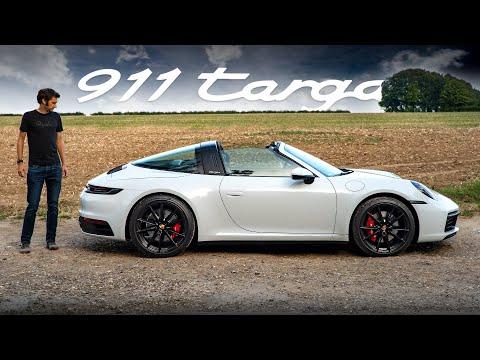 NEW Porsche 911 Targa 4S (992): Road Review | Carfection 4K