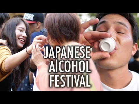 The BEST Alcohol Festival in Japan  **I had so much fun**
