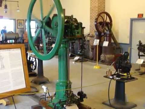 1868 Otto Langen -  Oldest running gas engine in the USA