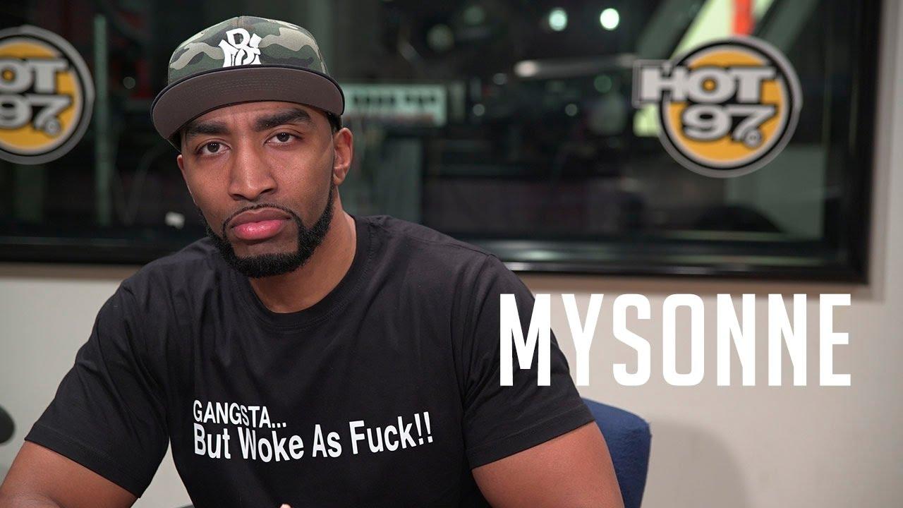 Mysonne Spits a Hot Freestyles on Funk Flex!!