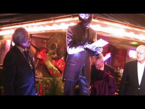 Allen Toussaint Statue New Orleans MUSIC LEGENDS PARK