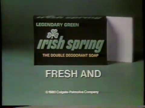 1980 Irish Spring Soap
