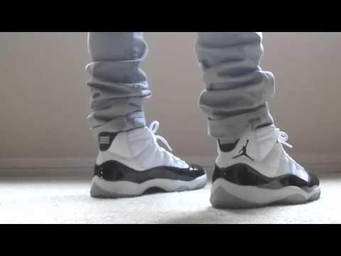 2524f4db9962f4 Jordan Concord 11 s (ON FEET) - YouTube