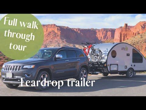 Alto R1713 Safari Condo Full Walk-Through | Teardrop Camper Trailer
