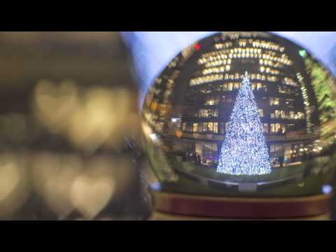 Around the Globe- A Snow Globe Timelapse Journey from Canada to London