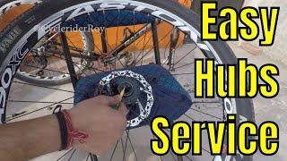 HOW TO SERVICE BICYCLE HUBS | MTB | CYCLE | WHEEL SERVICE
