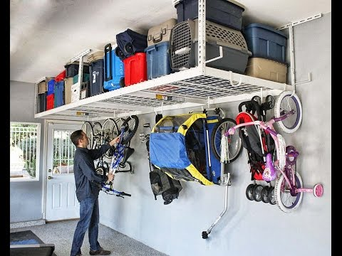 Clever DIY Garage Storage and Organization Ideas by 'Local Records Office'