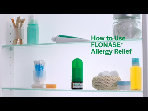FLONASE® Allergy Relief How To Use