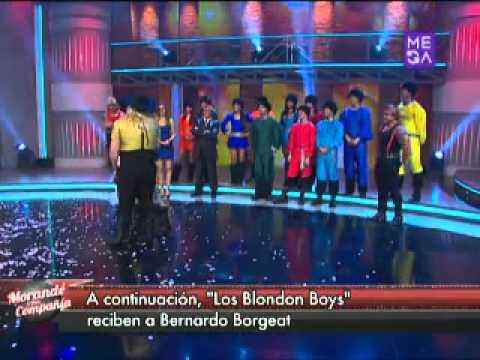 Bernardo Borgeat y Salfate bailan junto a Blondon Boys