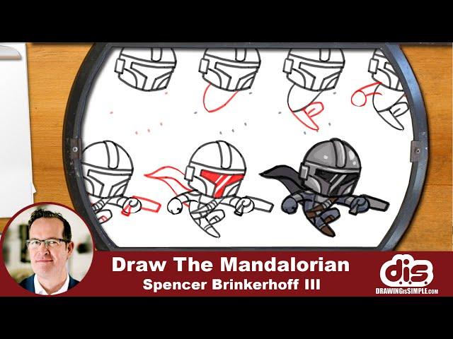 DrawingIsSimple: The Mandalorian