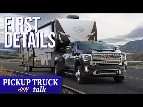 2020 GMC Sierra Heavy Duty 2500/3500 Revealed