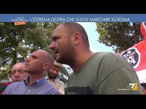 L'estrema destra che vuole marciare su Roma