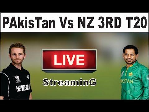 Live Streaming || Pakistan Vs New Zealand 3rd T20 || New Zealand Vs Pakistan 3Rd T20 || Live