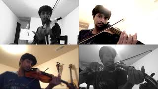 Pyaar Prema Kaadhal | Violin Cover | Dope Track |