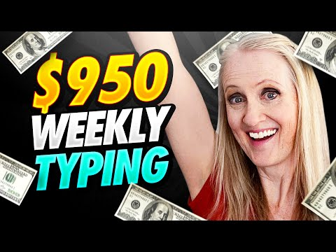 Transcription Jobs That Pay $950 Weekly - Earn From Home