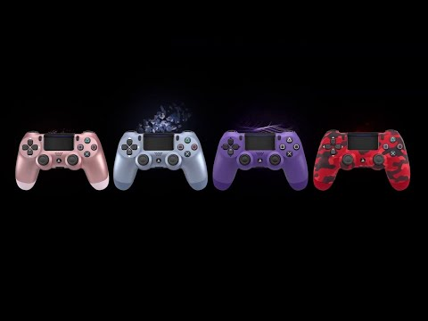 Dualshock 4 Wireless Controller - New Fall Colors Trailer