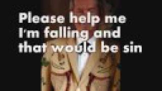 Hank Locklin - Please help me im falling