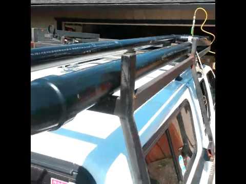 Diy Overland Truck Top Solar Shower Youtube