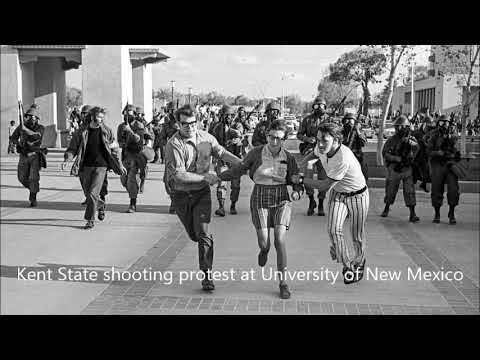 Kent State Shootings, Ohio Neil Young. Music.