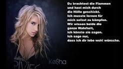 Kesha - Praying (Deutsche Übersetzung)