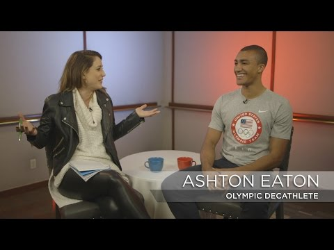 A sitdown with gold-medal winning decathlete Ashton Eaton | Rio Olympics 2016