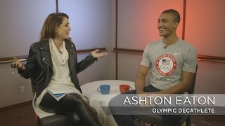A sitdown with gold-medal winning decathlete Ashton Eaton | Rio Olympics 2016