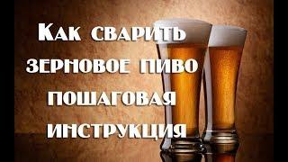 Как сварить зерновое пиво пошаговая инструкция для начинающих   Видео 18+