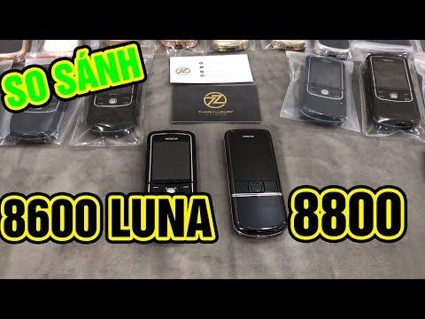 So Sánh Sự Khác Nhau Giữa Nokia 8600 Luna Và Nokia 8800 - Nokia 8600 And Nokia 8800Arte How Diferent